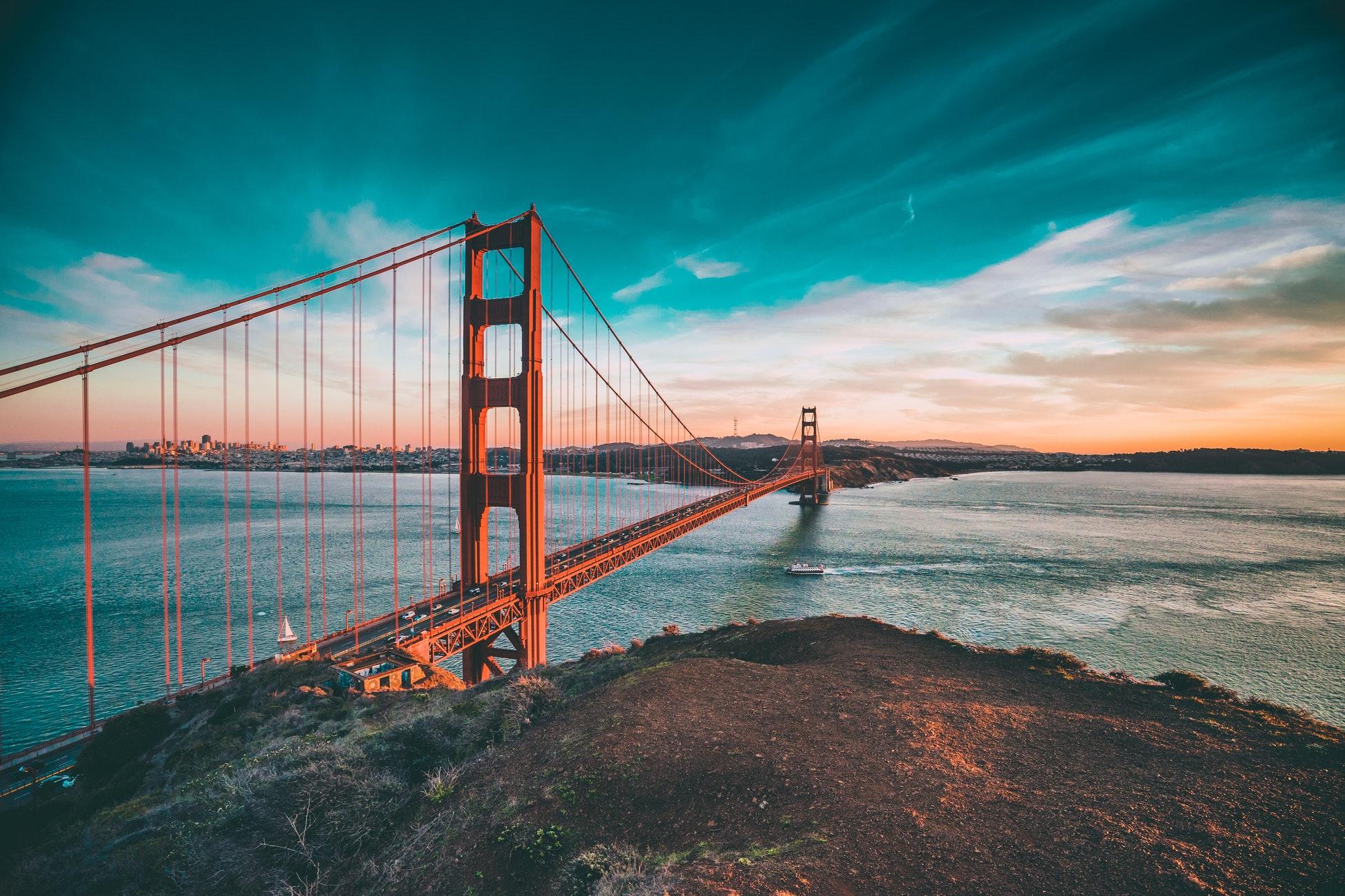 ¡Vuelos a SAN FRANCISCO </br> en Semana Santa </br> x sólo 296€ i/v!