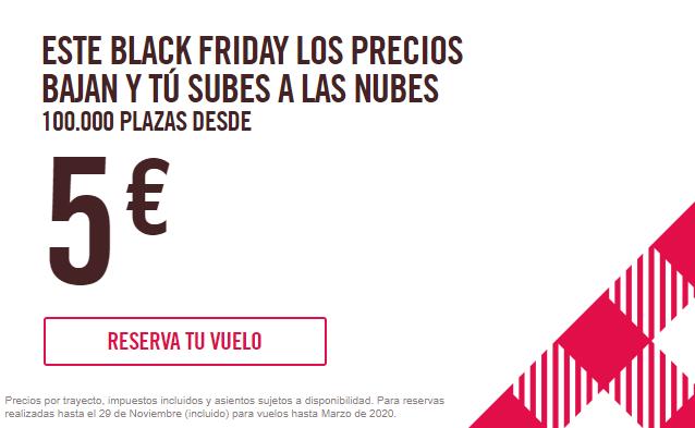 ¡BLACK FRIDAY CON VOLOTEA! </br> Vuelos x 5€ trayecto